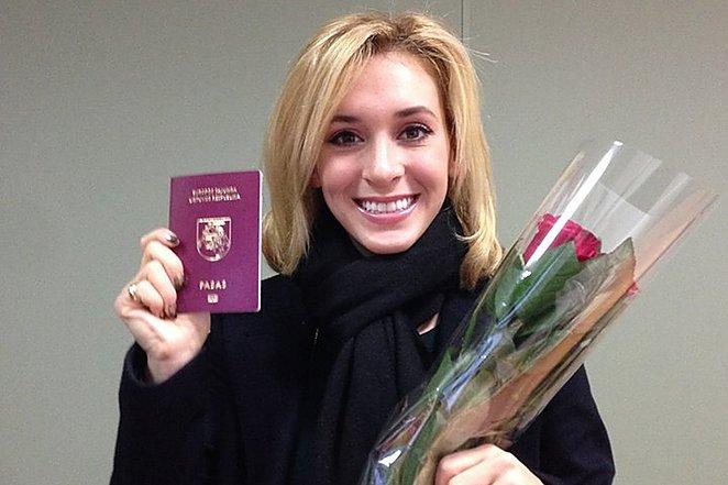 Amerikoniškos šypsenos eksportas į Lietuvą.