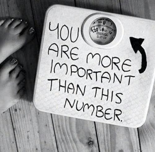 LOL. Kaip ir teisybė, bet tas skaičius šiaip jau yra svarbiausias svorio metime, alfa ir omega.
